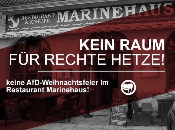 Weihnachtsfeier Berlin Mitte.Mitte Keine Afd Weihnachtsfeier Im Marinehaus Kein Raum Der Afd